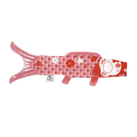 Madame MO KOINOBORI - マダムモー こいのぼり(Sサイズ/ピンク)